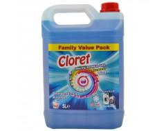 Detergent Lichid Automat White Power gel 2 in 1 5L albastru
