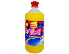Sapun lichid cremos Bubble Gum rezerva 1 L