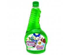 Detergent pentru geam Lacramioara 0.75 L rezerva
