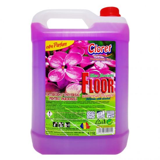 Detergent pardoseala Liliac 5 L