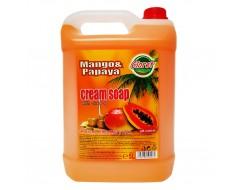 Sapun lichid cremos Mango & Papaya 5 L